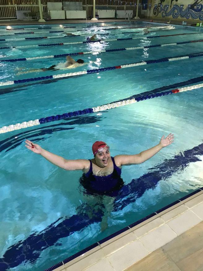 Swimming - Devina